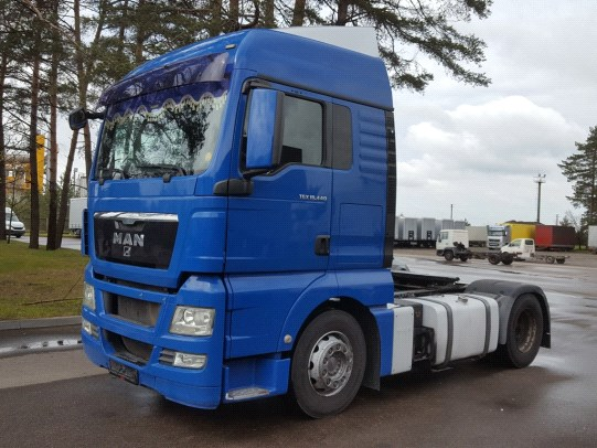 MAN TGX 18.440 Automatic, Retarder