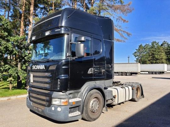 Scania R 440 3 pedal, RETARDER