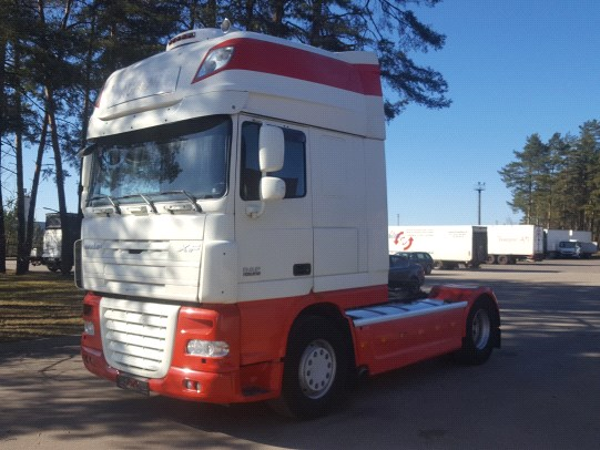 DAF XF 105.510 MANUAL Retarder