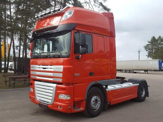 DAF XF105.510 Manual Retarder