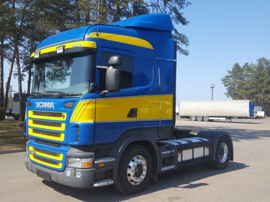 Scania R480 Retarder